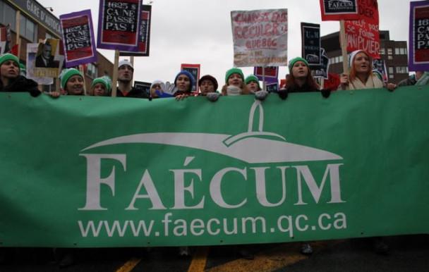 35 ans de la FAECUM : la voix des étudiants