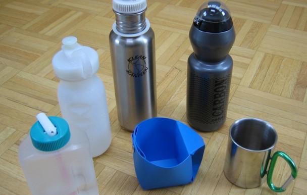 Fin annoncée des bouteilles d'eau