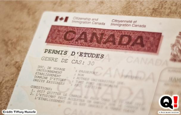 Une nouvelle réglementation pour le permis d'étude canadien