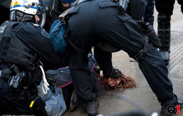 #COBP17 : manifestation brutale