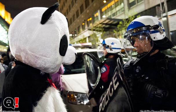 Plus d'avocat pour les manisfestants
