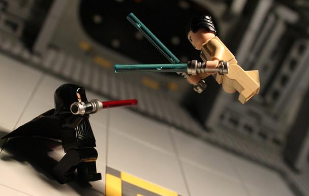 Les sabres lasers, bientôt une réalité ?