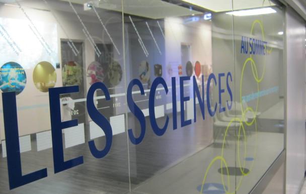 Les sciences à l'honneur
