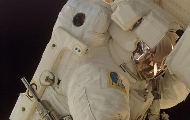 Un étudiant dans l'espace