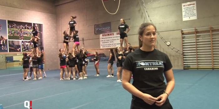 Entraînement Carabins : Cheerleading