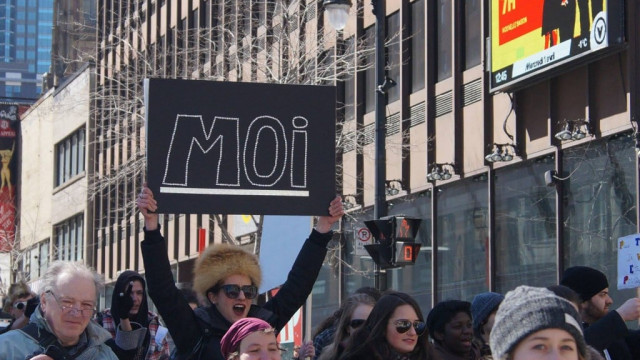 Une manifestation sous le signe du poisson d'avril