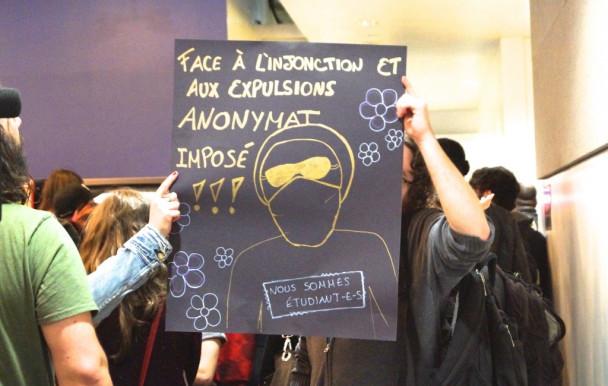 Altercations lors d'une levée de cours à l'UQAM