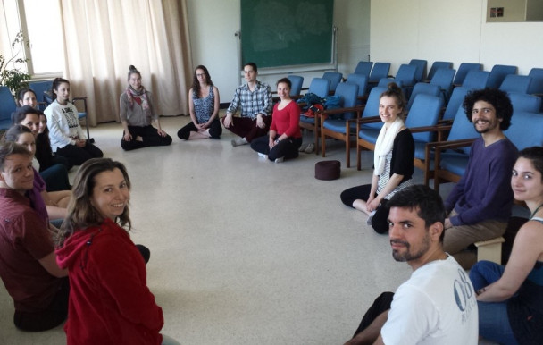 Un salon zen pour les étudiants