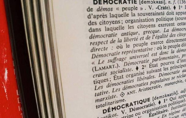 La démocratie à l'ère des Indignés