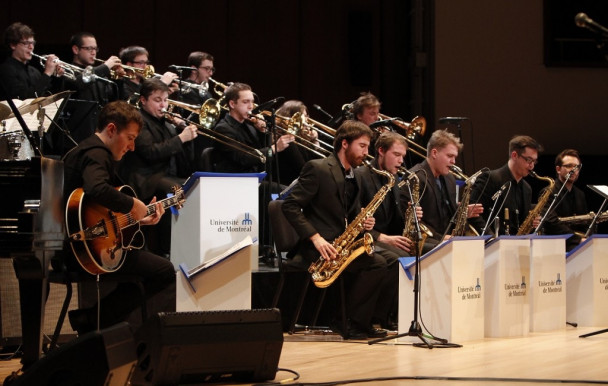 Chris Potter en spectacle avec le Big Band de l'UdeM