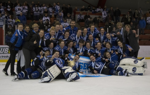 Les Carabins triomphent en finale provinciale