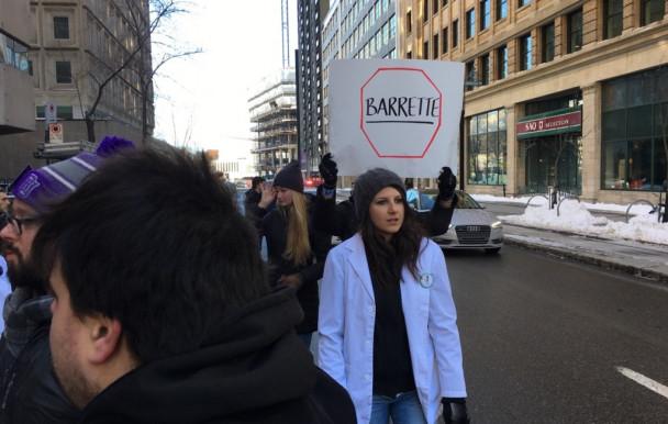 Marche des étudiants en pharmacie