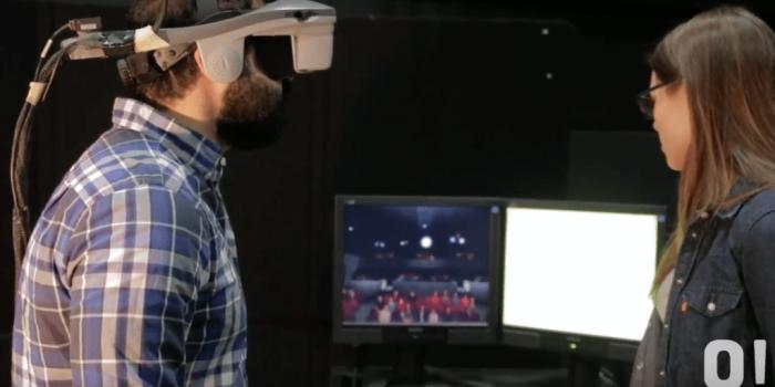 Reportage vidéo - La réalité virtuelle en recherche