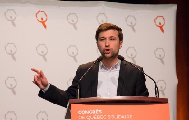 Québec solidaire s'installe à l'UdeM