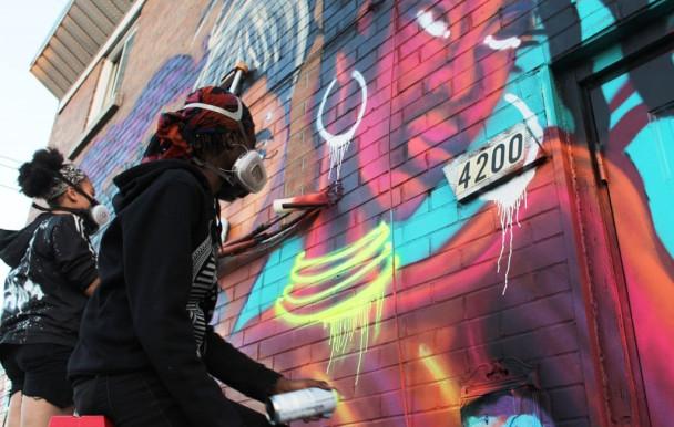 Colorer Les Murs Pas Ses Poumons Quartier Libre
