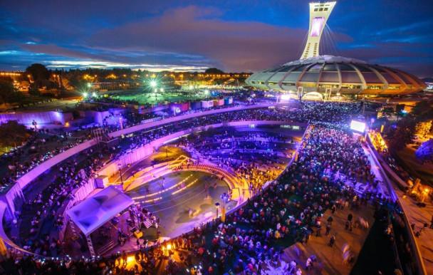 La symphonie Schéhérazade au Parc olympique