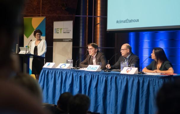 Un débat sur l'environnement à HEC