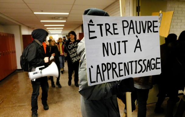 19 000 étudiants en grève pour la rémunération des stages