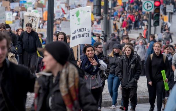 Grève climatique - les étudiants dans la rue pour l'environnement