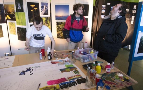 GéoArt 2019 : les adieux artistiques des géographes au Strathcona