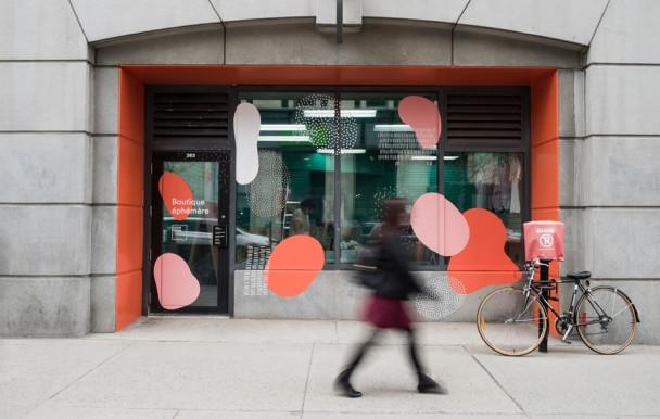 Une boutique éphémère à l'UQAM