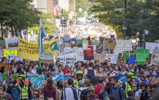 Montréal en grève climatique