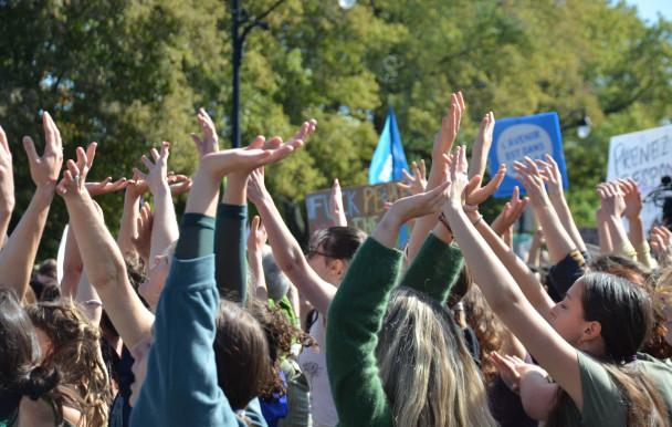 Danser en cœur pour la planète