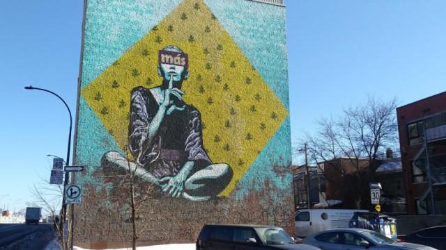 Entre l'art de rue et le politique