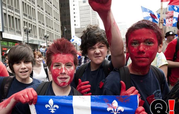 200 000 rouges dans la rue
