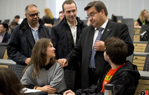 Municipales 2013 : Denis Coderre à l'UdeM