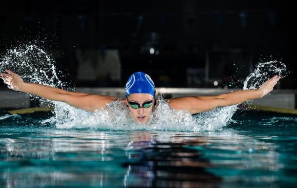 Katerine Savard, une olympienne en bleu