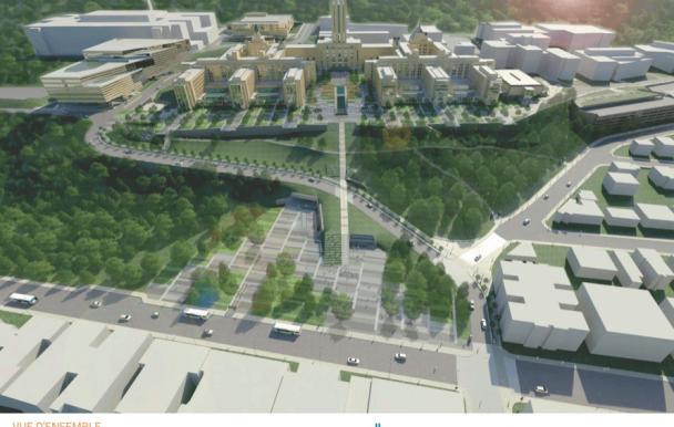 Projet de réaménagement à l'UdeM