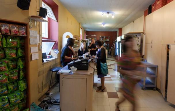 Rénovations du café La Retenue