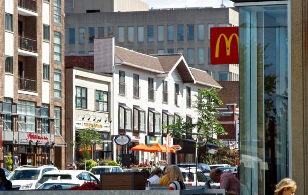 Moins de restaurants rapides à CDN-NDG
