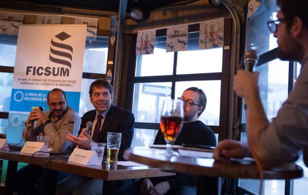 Parler de sciences bière en main
