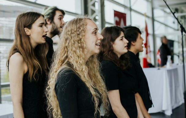 Le talent étudiant en vedette à UdeM en spectacle