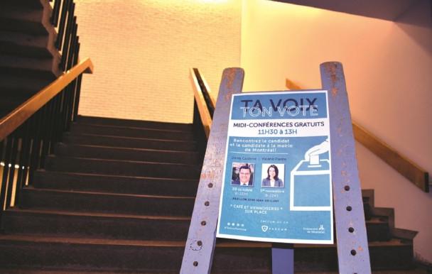 Rechercher le vote étudiant