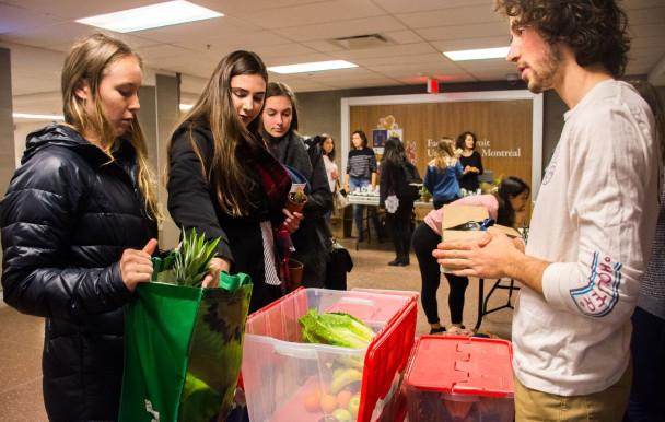 Concurrence alimentaire sur le campus
