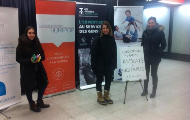Juripop s'invite au métro Berri-UQAM