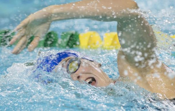 Un podium pour les nageuses des Carabins