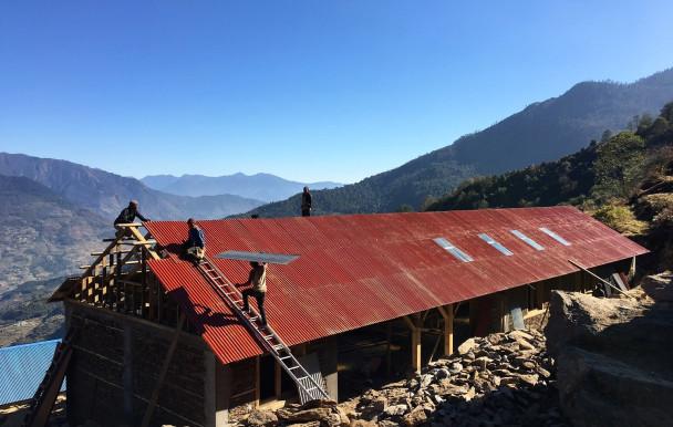 au service de la construction humanitaire