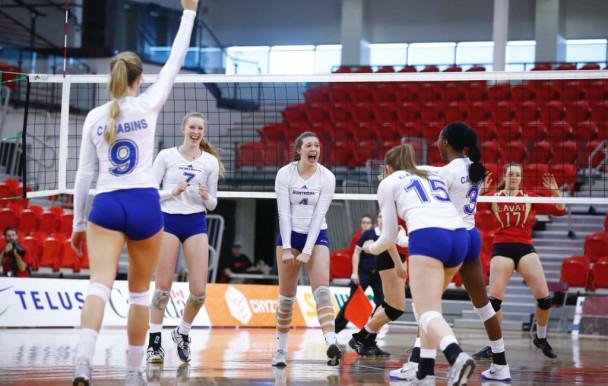Les Carabins, cinquièmes au Championnat U Sport de volleyball