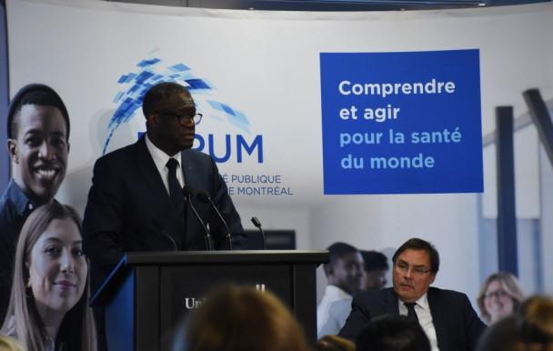 L'UdeM collabore avec le docteur Mukewge