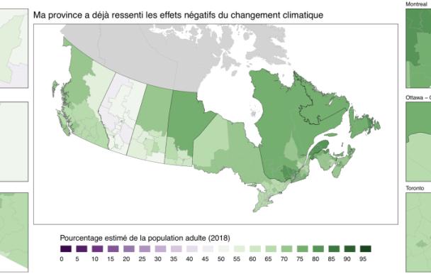 L'opinion publique canadienne sur les changements climatiques