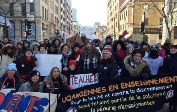 Coalition étudiante face à la loi 21