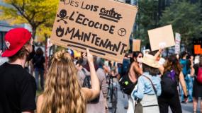Mobilisation inédite des étudiants contre le projet GNL Québec