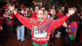 Le pull « kitch » de Noël