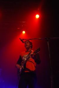 (Le guitariste Martien Bélanger. Crédit photo: Dominique Cambron-Goulet)