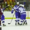 L'équipe de hockey féminin des Carabins a été fondée en 2009 et remporte son premier championnat québécois et canadien en 2013. (Crédit photo : Isabelle Bergeron)