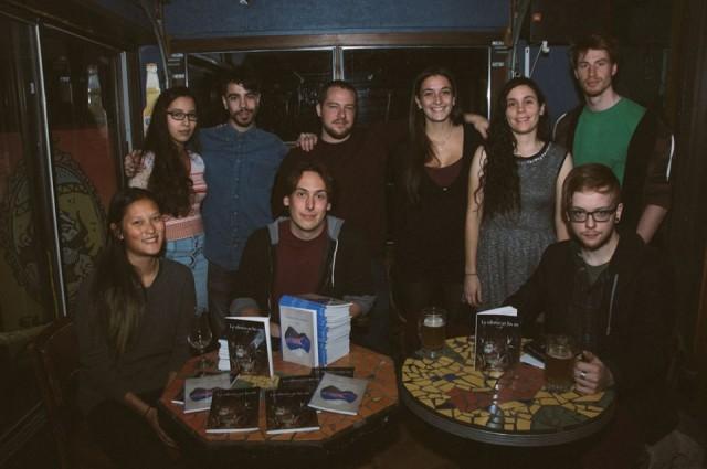 Le collectif est composé de 9 étudiants au baccalauréat en écriture de scénario et création littéraire. Crédit Photo: Collectif Nyx.